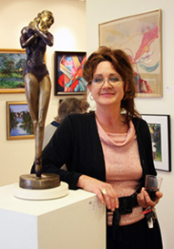 Allison Spooner at the Thousand Oaks Community Art Gallery