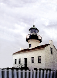 """Old Point Loma Liighthouse"" by JJlie ann Craig Morton"